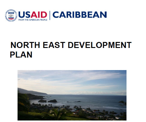 Click to view the Cover of the Land Use Plan for the Northeast Area