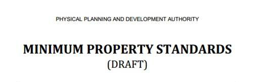 Minimum Property Standards (PDF, 881 KB)